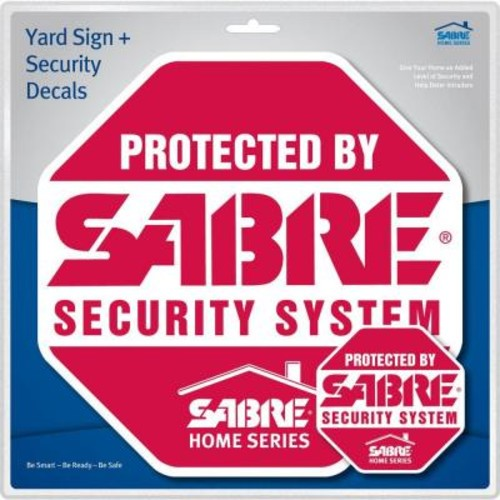Sabre Home Security Sign