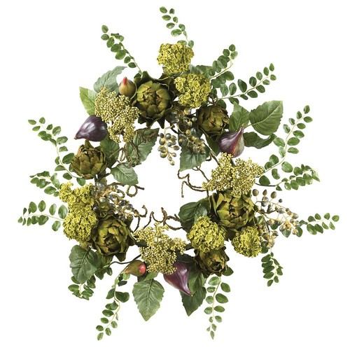 nearly natural Artichoke Floral Wreath