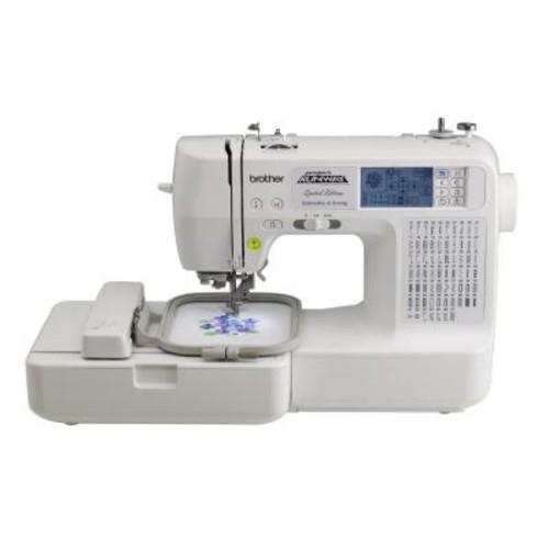 Brother Sewing and Embroidery Machine With Rolling Bag