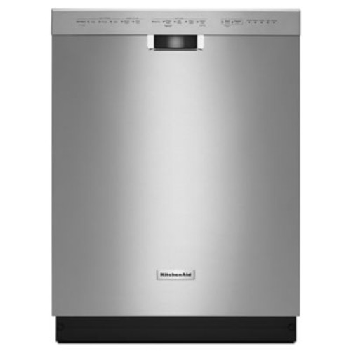 KitchenAid Front Control Dishwasher in Stainless Steel with Stainless Steel Tub, ProWash Cycle, 46 dBA