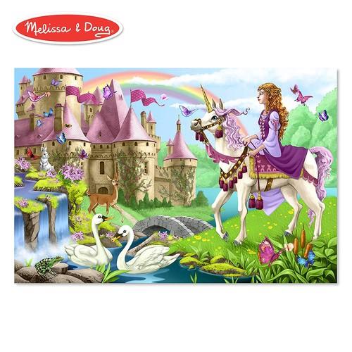 Melissa & Doug Fairy Tale Castle Jumbo Jigsaw Floor Puzzle