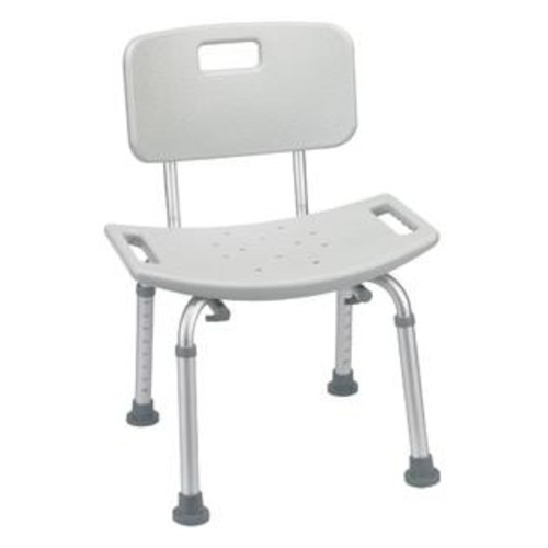 Drive Medical Bathroom Safety Shower Tub Bench Chair Color: Gray