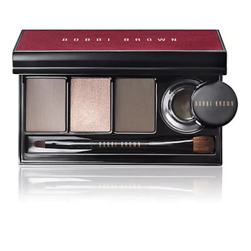 Bobbi Brown Cool Smokey Eye Shadow & Long-Wear Gel Eyeliner Palette