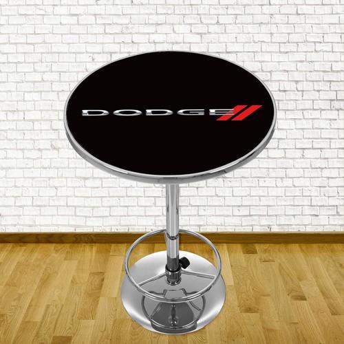 Trademark Dodge Chrome Pub/Bar Table