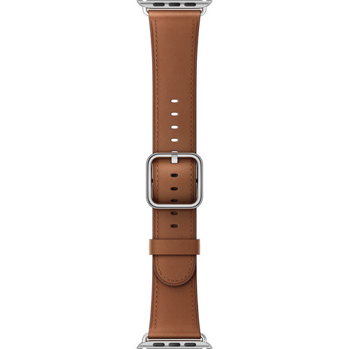 Watch Classic Buckle Band (42mm, Saddle Brown)