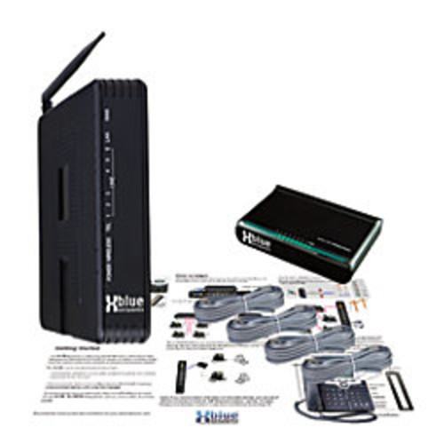 XBLUE Networks X-50 VoIP System Server And Wireless Router, Charcoal