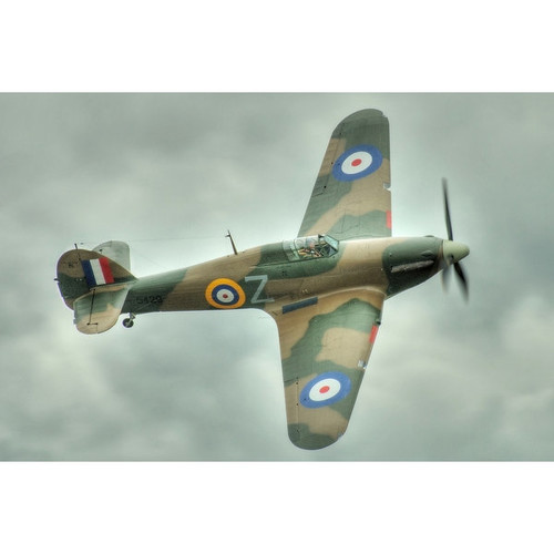 Hawker Hurricane - (Jeff Cook) - LP Photography (Cotton/Polyester Chef's Apron)