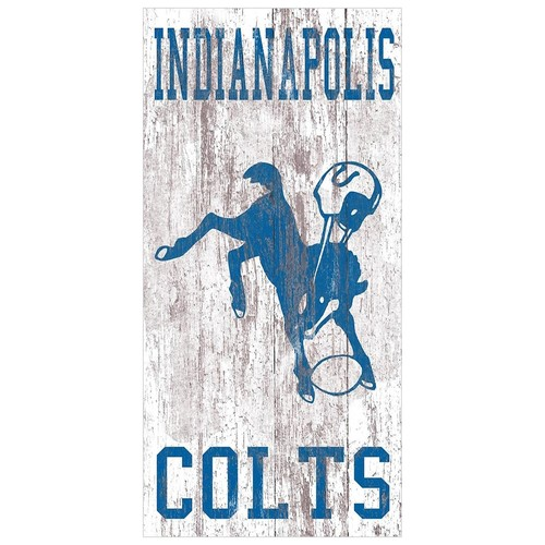 Indianapolis Colts Heritage Logo Wall Sign