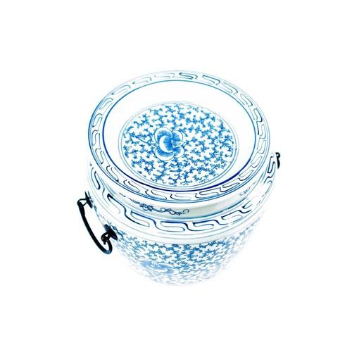 Flat Lidded Jar