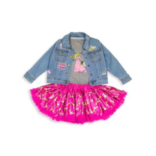 Toddler's, Little Girl's & Girl's Princess 3-Piece Tutu Set