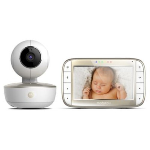 Motorola MBP855CONNECT 5-Inch Wi-Fi Video Baby Monitor