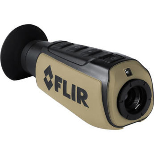 FLIR Scout III 320 60Hz Thermal Imager Monocular, 19mm Fixed Focus Lens, ITAR 431-0009-31-00