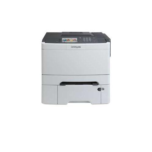 Lexmark CS510dte Color Laser Printer - 32 ppm Black & Color, 1200 x 1200 dpi, Duplex (2-sided Printing), Dual-Core 800MH