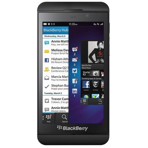 Blackberry Z10 STL100-3 16GB Unlocked GSM 4G LTE OS 10 Cell Phone - Black (Refurbished) [Blackberry Z10 STL100-3 16GB Unlocked GSM 4G LTE OS 10 Cell Phone - Black Refurbished]