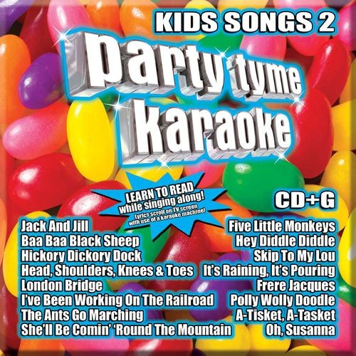 Party Tyme Karaoke: Kids Songs, Vol. 2 [CD + G]