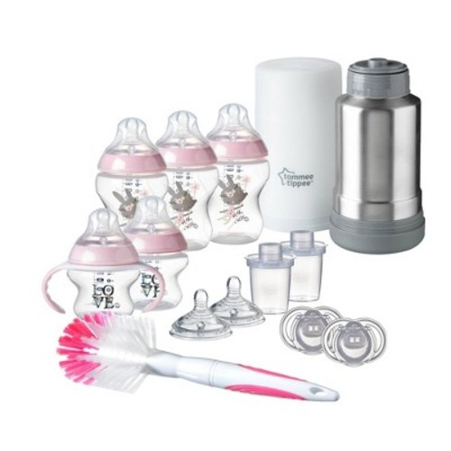 Tommee Tippee Closer to Nature Bottle Giftset - Pink