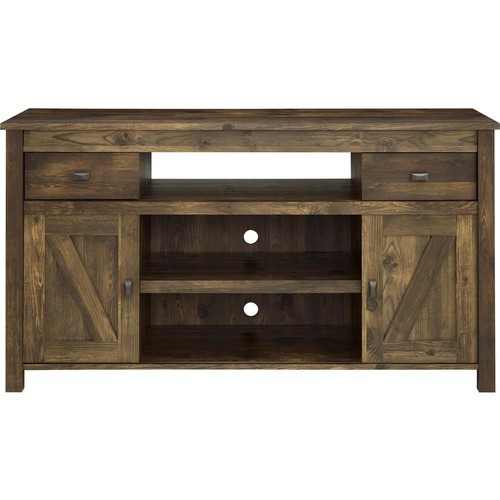 Altra Furniture Farmington Century Barn Pine Storage Entertainment Center