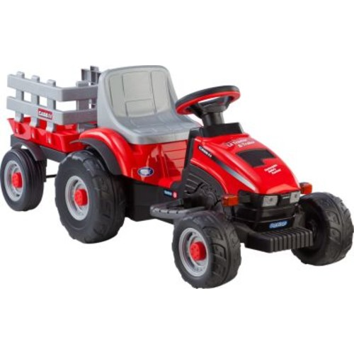 Peg-Perego Case IH Lil Tractor and Trailer