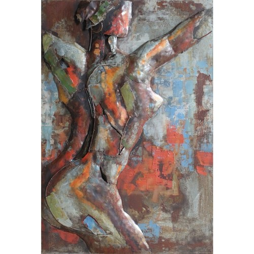 Empire Art 'Nude Study 2' - Primo Mixed Media Wall Sculpture