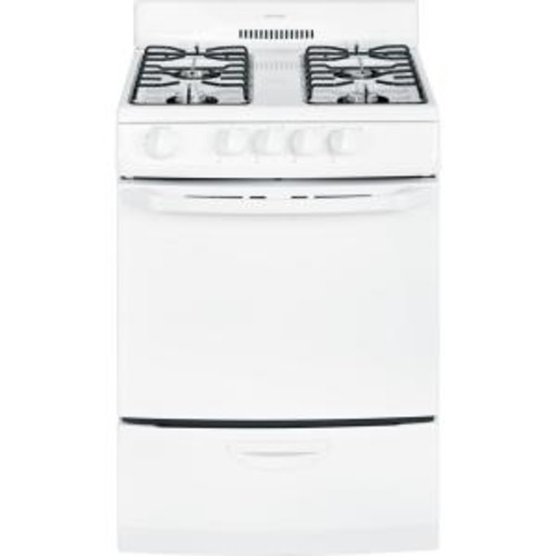 Hotpoint 24 in. 3.0 cu. ft. Gas Range in White