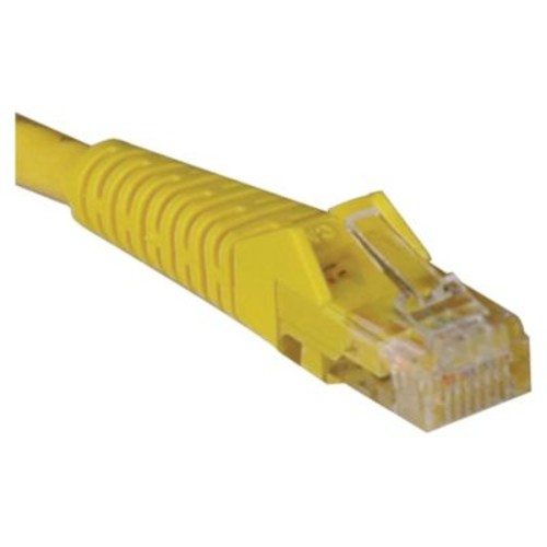 Tripp Lite N201-020-YW 20' CAT-6 Gigabit Snagless Molded Patch Cable, Yellow