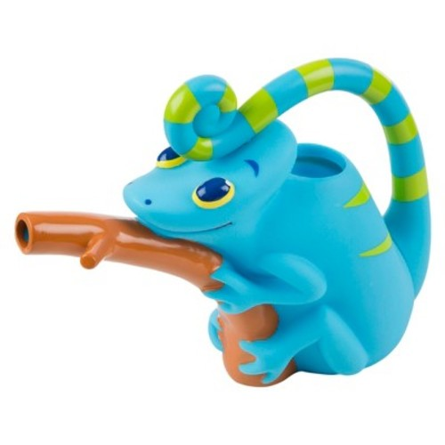 Melissa & Doug Sunny Patch Camo Chameleon Watering Can With Tail Handle and Branch-Shaped Spout