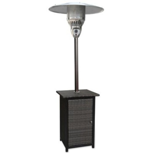 Hanover Square Wicker Propane Patio Heater