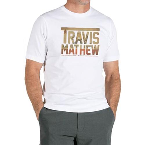 TravisMathew Men's Cali Bear TM Golf Tee