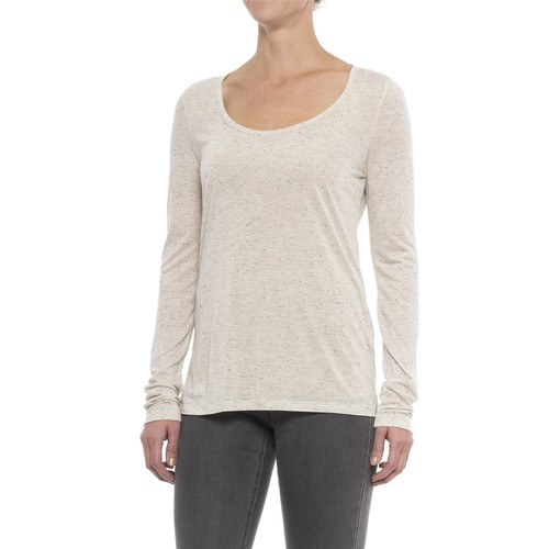 Specially made Heathered and Flecked Rayon Shirt - Long Sleeve (For Women) [length: R]