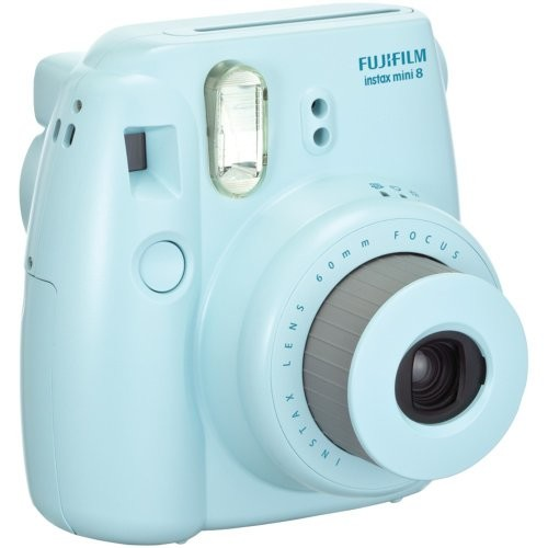 Fujifilm Instax 8 Color Instax Mini 8 Instant Camera - Blue