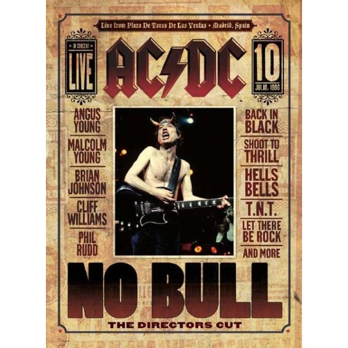 No Bull: The Directors Cut [Blu-Ray Disc]