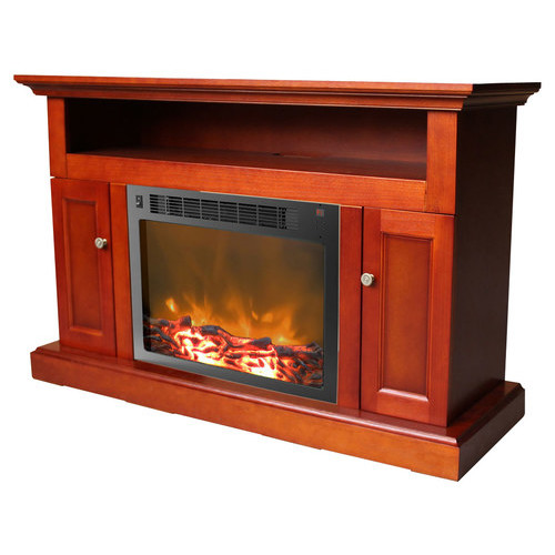 Cambridge - Sorrento Electric Fireplace for Most Flat-Panel TVs Up to 50