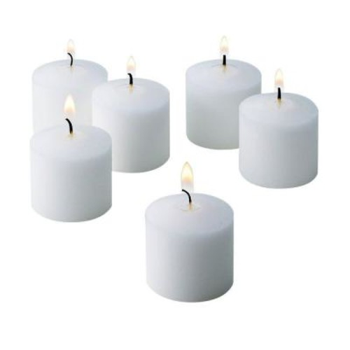 Light In The Dark 10 Hour Fresh Linen Scented Votive Candle (Set of 72)
