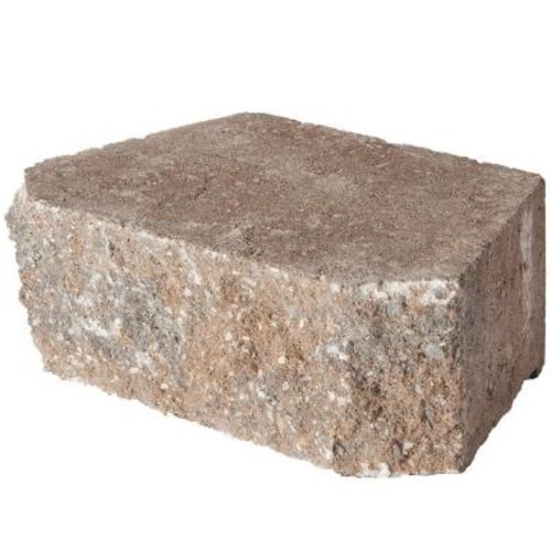 Pavestone 11.75 in.x 6.75 in.x 4 in. Rock Blend Concrete Retaining Wall Block (144 Pcs / 46.5 Face ft. / Pallet)