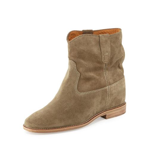 ISABEL MARANT Crisi Flat Western Ankle Boot