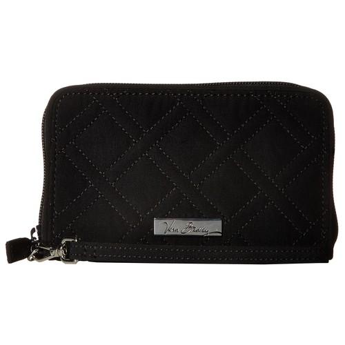 Vera Bradley RFID Grab & Go Wristlet Classic Black