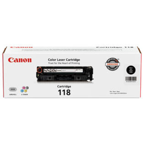 Canon 2662B001M CRG118 BK Toner Cartridge - Black