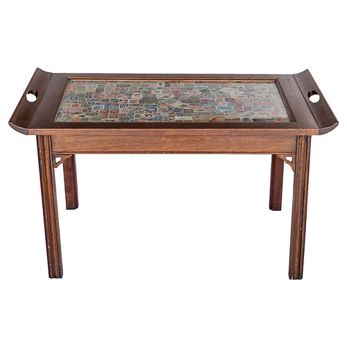 Coffee Table w/ Stamp Top