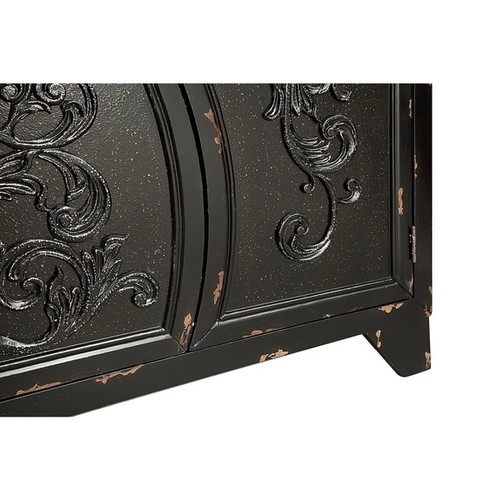 ELK Lighting Coffee, Console, Sofa & End Tables Remy Black Accent Cabinet