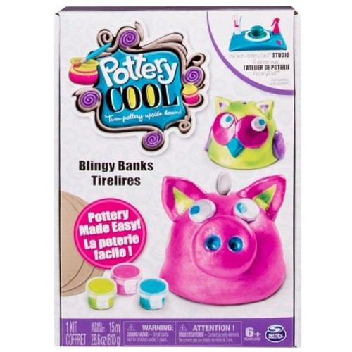Cool Maker Pottery Project Kits Blingy Banks Refill Project Kit by Spin Master