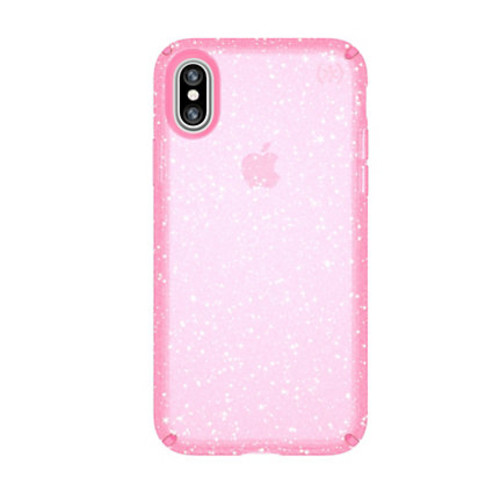 Speck Products Presidio CLEAR + GLITTER Case For iPhone X, 5 7/8