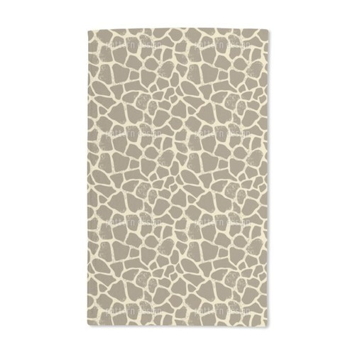 Giraffe Hand Towel (Set of 2) - Giraffe Hand Towel