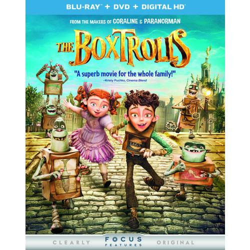 The Boxtrolls (Blu-ray + Blu-ray + DVD + Digital Copy)