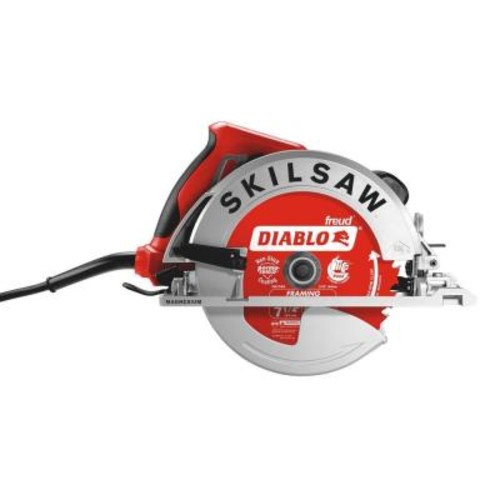 SKILSAW 15 Amp Corded Electric 7-1/4 in. Lightweight SIDEWINDER Circular Saw with 24-Tooth Diablo Carbide Blade