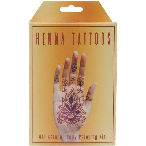 Earth Henna Body Painting Kit