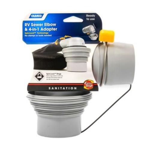 Camco RV Easy Slip Adapter [MODEL : EASY SLIP COUPLER]