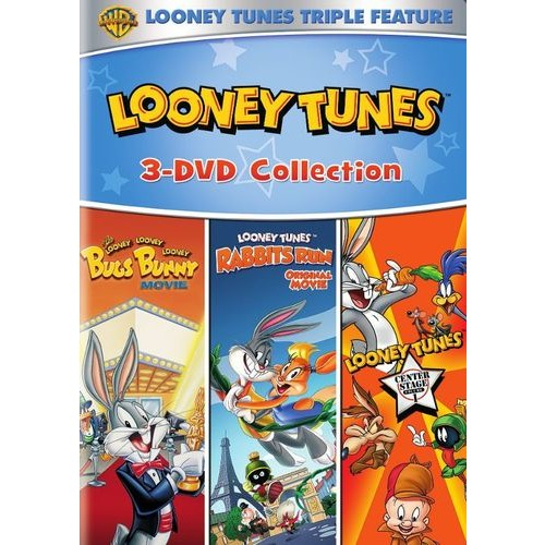 The Looney, Looney Looney Bugs Bunny Movie/Looney Tunes: Rabbits Run/Looney Tunes: Center Stage Vol. 1 [DVD]