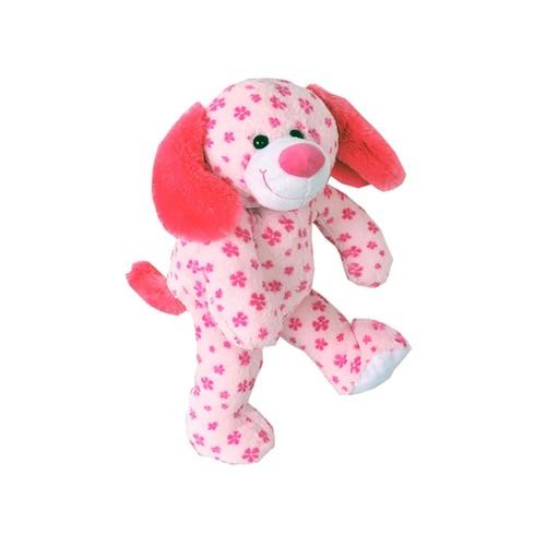 Pink Plush Puppy