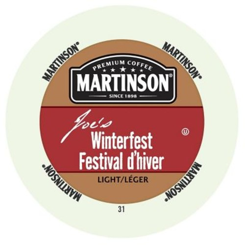Martinson Coffee Winterfest, RealCup portion pack for Keurig K-Cup Brewers, 96 Count (4320039)