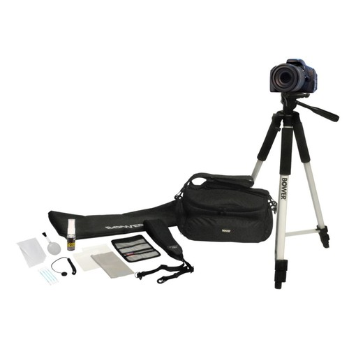 Bower 12-IN-1 DSLR Camera Accessory Kit